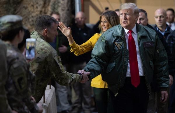 """特朗普""""傲慢的访问""""后,伊拉克议员要求美国撤军!"""