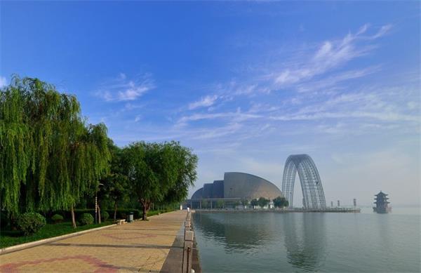 聊城东昌湖东南片区规划为人文湿地景区