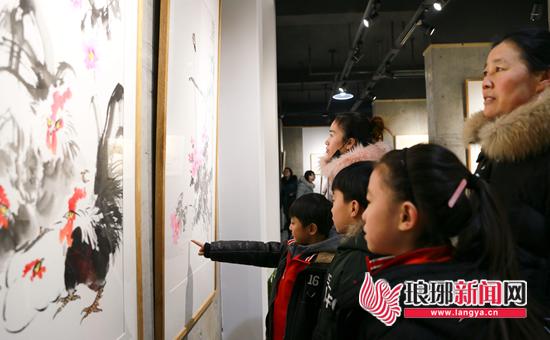 临沂南山美术馆开馆 让艺术真正走入寻常百姓家