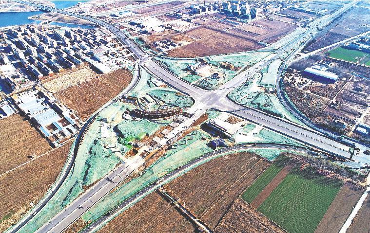 淄博5个立交桥工程 进展最快的已完成总工程量40%