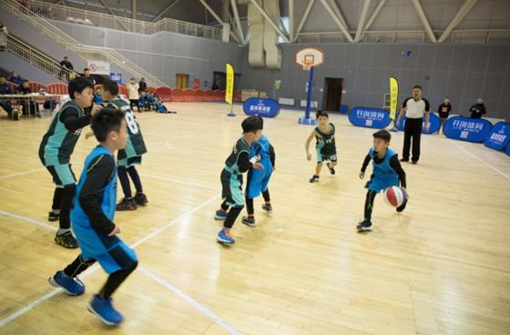 """""""开创""""杯济南市小篮球联赛完美落幕 前CBA冠军成员倾情助阵"""