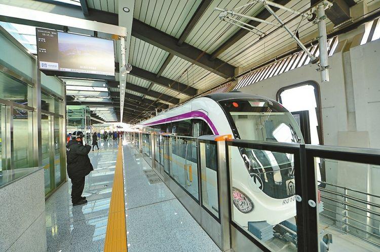 济南:地铁梦,圆了! 轨道交通1号线通车