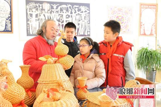 临沂市青少年非遗文化传承中心成立 非遗实践启动
