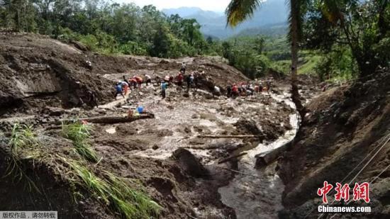 菲律宾中北部连日豪雨致灾情恶化 死亡人数增至68人