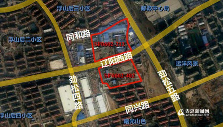 浮山新区两地块规划调整 住宅比例提高商业容积率加大