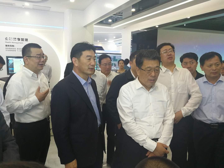 王玉君书记视察深圳康美药业