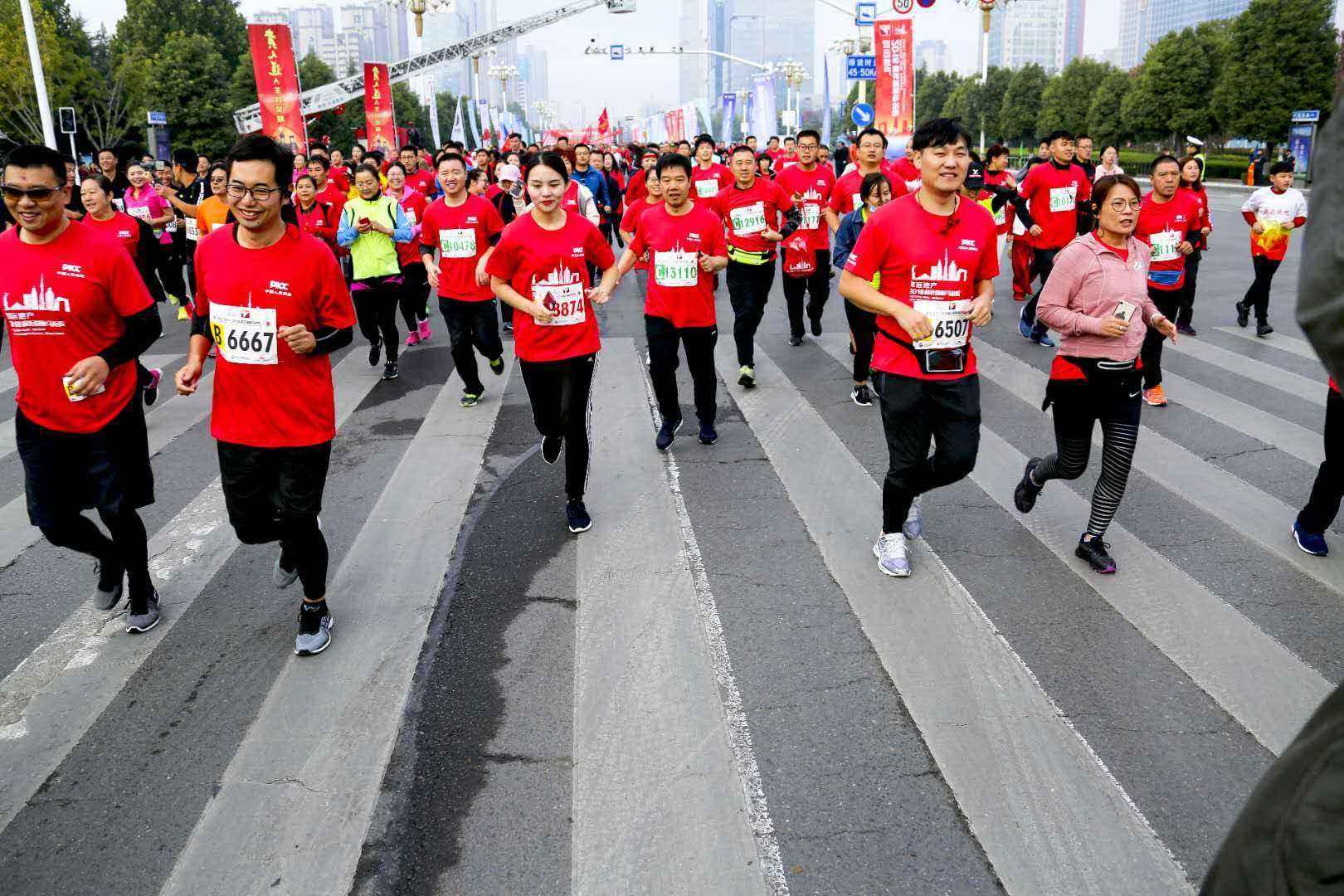 2018临沂马拉松1