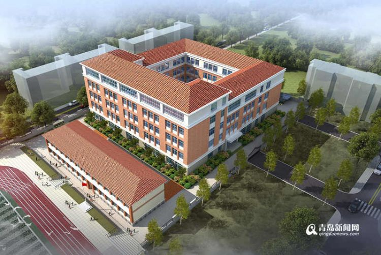 延安二路小学原址改扩建 整体设计走里院风格(图)