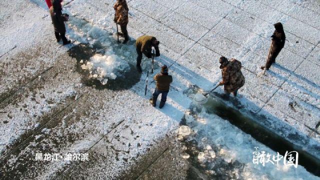 瞰中国|一周精选:神州大地 冰雪奇观