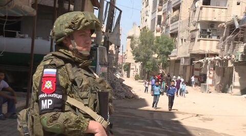 美国称要从叙利亚撤军 俄军事警察开始在叙利亚地区巡逻