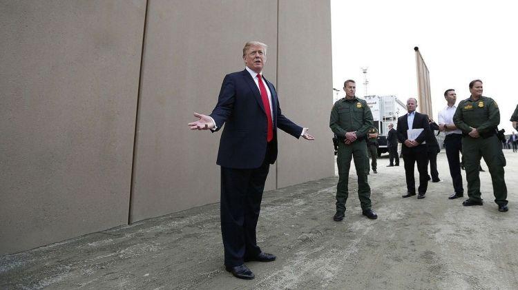 特朗普会为了墙宣布进入紧急状态? 彭斯:他还没做决定