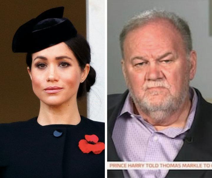 """梅根父亲控诉女儿""""不孝"""":杀人犯之女都会探监,她却不理我"""
