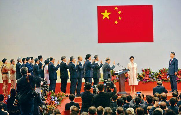 香港《国歌法》草案出炉 这些重要场合将奏放国歌