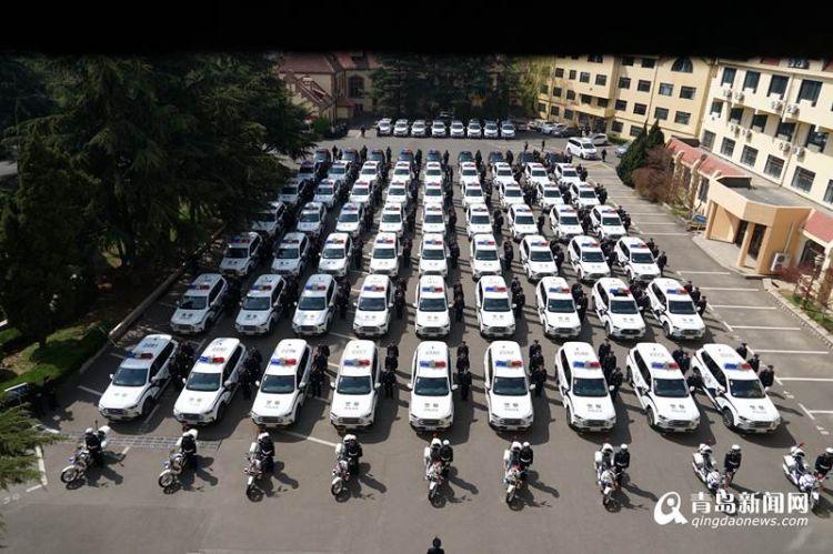 青岛110去年抓获嫌疑人1600余人 救助群众24万余人次