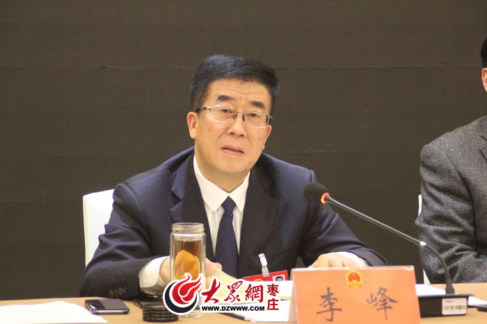 """李峰:五个""""区""""定位薛城 打造枣庄中心城区"""