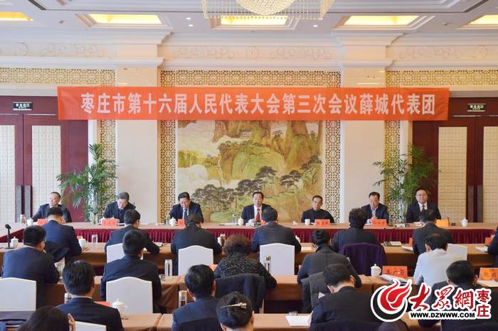 石爱作:薛城今年要下决心搞好北批市场改造