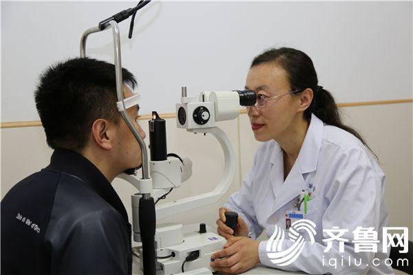 烟台毓璜顶医院眼科开展全飞秒治疗近视 2分钟轻松摘镜