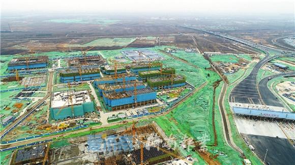 山东第一医科大学初露真容,首批建筑将今年6月底竣工