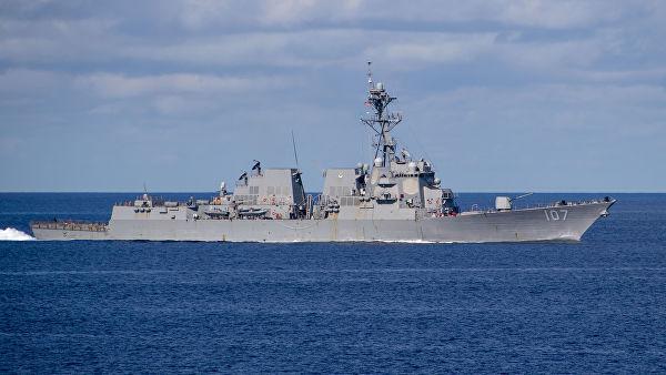 美驱逐舰驶入波罗的海 俄前高官:未对俄构成任何威胁