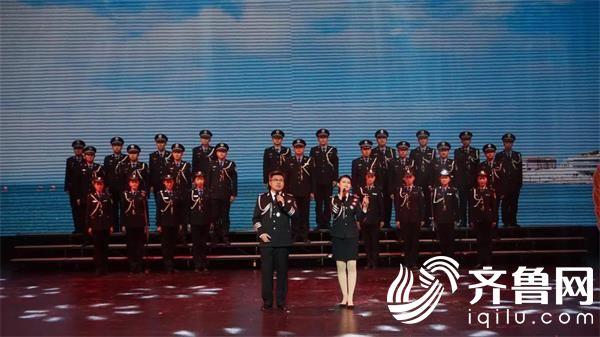 合唱:威海市公安局原创歌曲《守护》