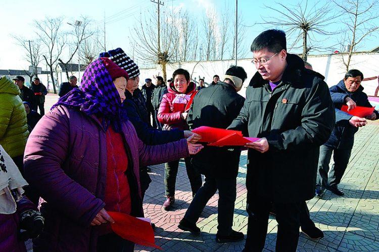 莱城区人民法院开展普法宣传活动
