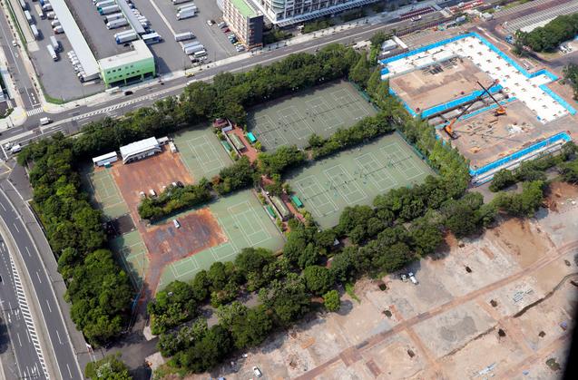 东京一奥运场馆因施工单位破产停工 日本称不影响奥运