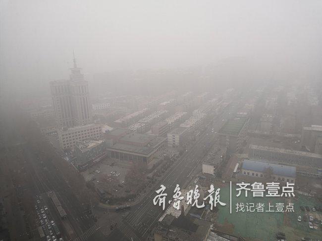 济南市气象台发布大雾黄色预警信号,能见度小于500米