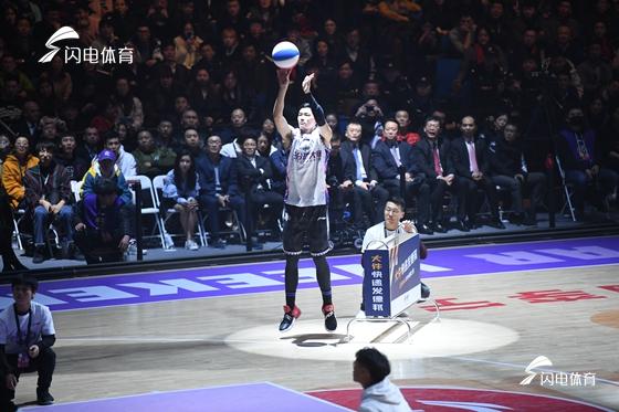 CBA全明星三分球大赛落幕 陈林坚摘得桂冠