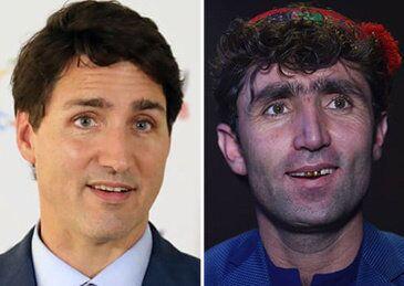 因长相酷似加拿大总理特鲁多,阿富汗才艺秀歌手意外走红