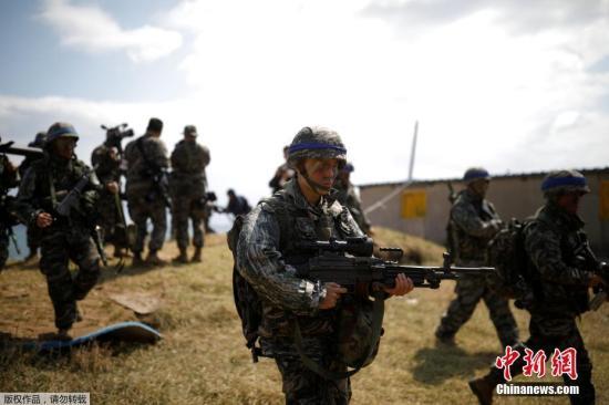 韩国防白皮书:2018年韩美联演次数同比减少25%