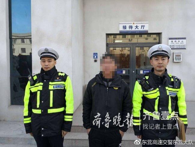 """东营一男子测酒劲有秘方想""""金鸡独立"""",结果醉驾被罚"""