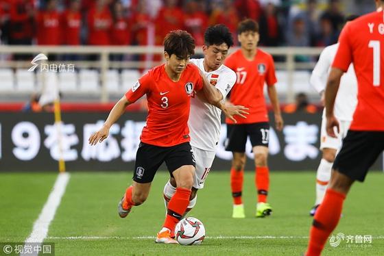 亚洲杯:孙兴慜造点+助攻 国足0-2不敌韩国