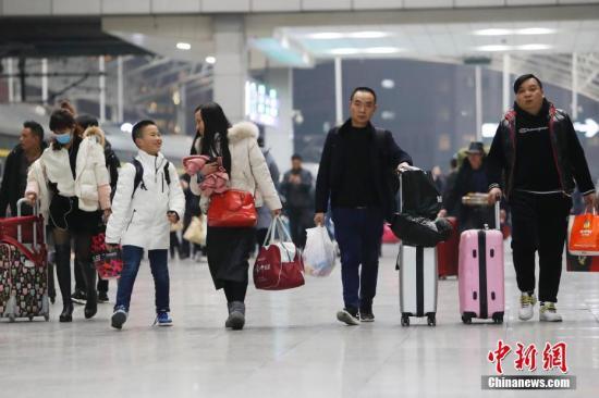 2019年春运预计中国旅客发送量将达29.9亿人次