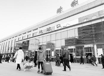 春运首日10万人坐火车离济!山东新增14个高铁车站