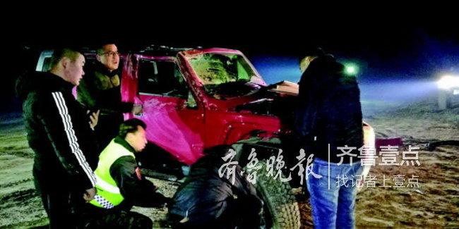 屡陷黄河滩,为啥还冒险?济南:一个月连续救援五辆车