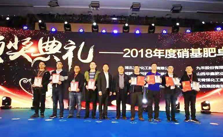 鲁西集团:荣获2018年度硝基肥卓越品牌