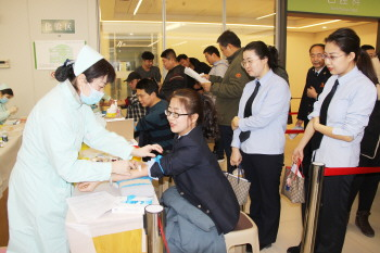 春节备血工作启动首日441名市民献血15.3万毫升