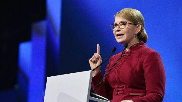 """季莫申科正式宣布参选总统:目标是建立""""伟大的乌克兰"""""""