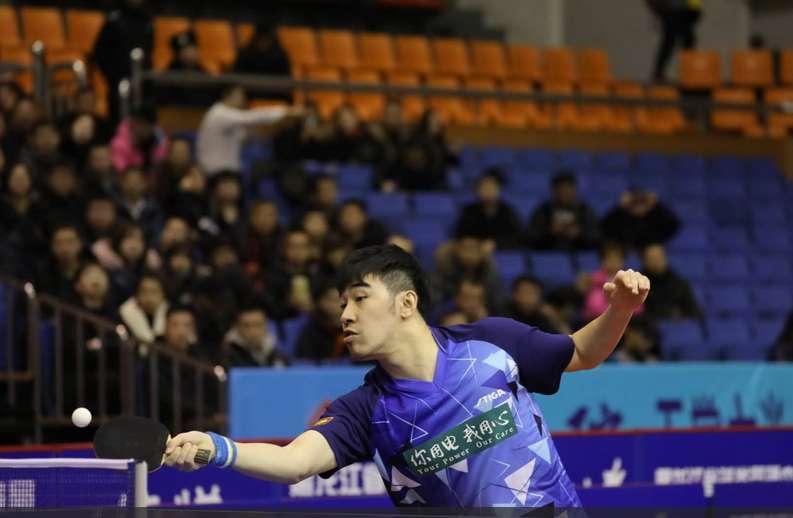 乒超级联赛第17轮:鲁能男队客场2:3山东魏桥