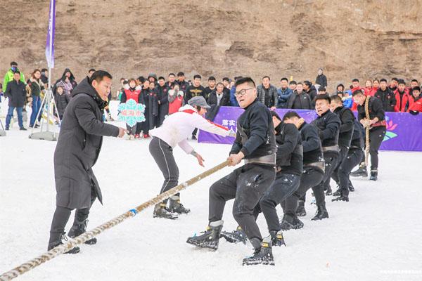 """二冬会""""雪地拔河乐闹泉城"""