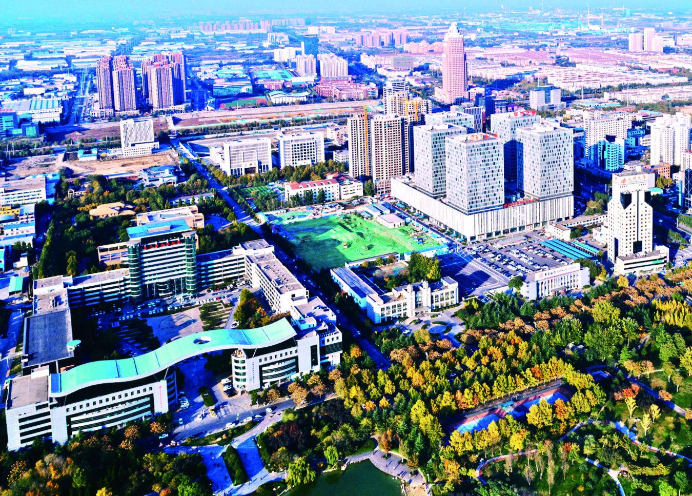 """山水环绕 森林围城 淄博高新区有了""""金山银山"""""""
