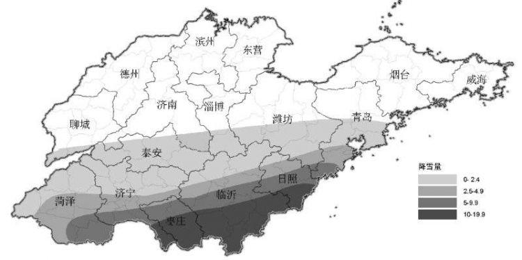 又来一波降雪,枣庄、临沂、日照等地将受光顾