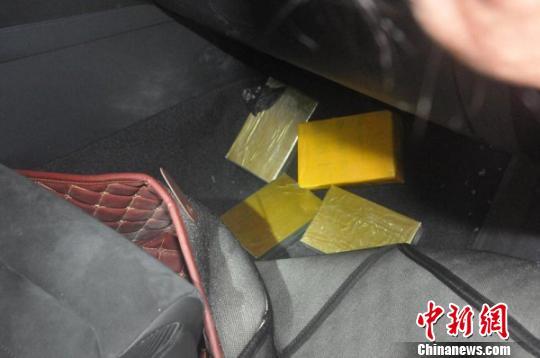 广西大新警方破获一毒品案 缴获毒品海洛因1.75公斤