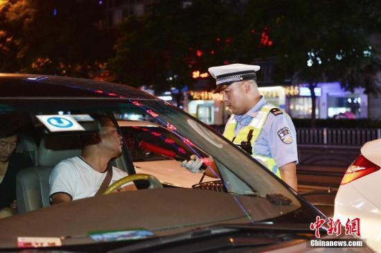 2018年中国共有17264人被依法终生禁驾