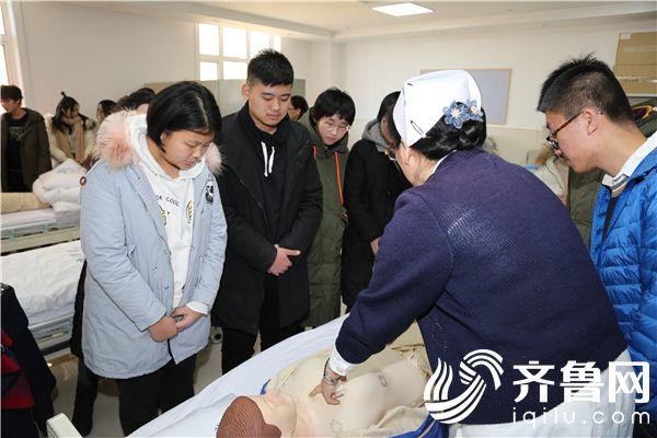 学习救护知识,提高急救技能——社会实践走进烟台毓璜顶医院