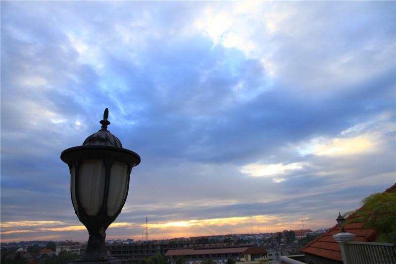 116、黎明。五天的柬埔寨旅游结束