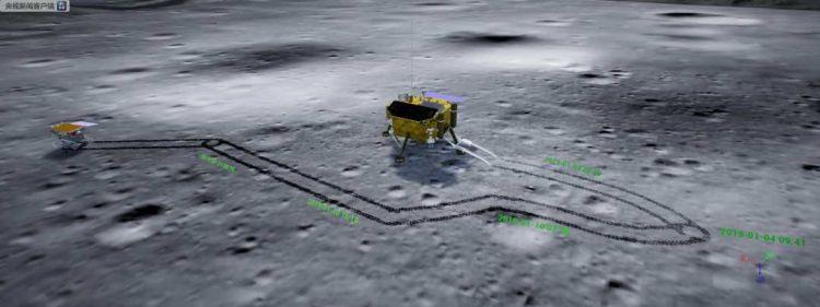 """嫦娥四号和玉兔都""""醒了"""""""