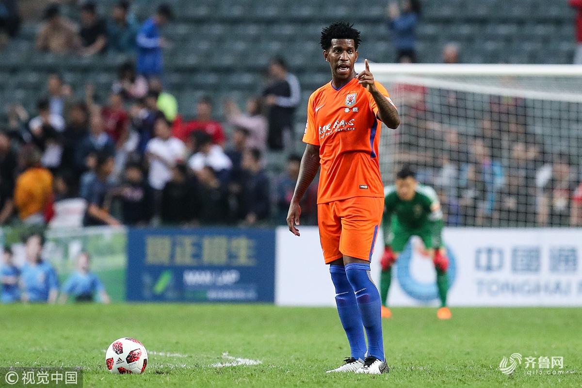 2019香港贺岁杯:山东鲁能2-1奥克兰城