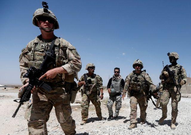 塔利班说美方承诺4月底驻阿美军减半
