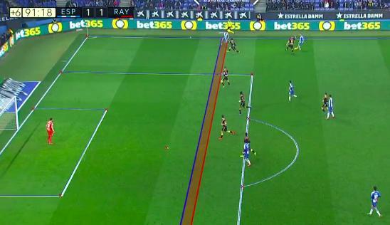 西班牙人2-1巴列卡诺,武磊造点导演逆转